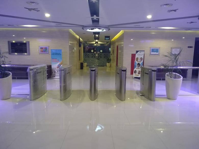 Project Flap Gate & Elevator Acces Control DKPPU - Kemenhub