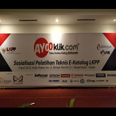 Sosialisasi Pelatihan Teknis E-Katalog LKPP 5 April 2018 Banjarmasin - Kalsel